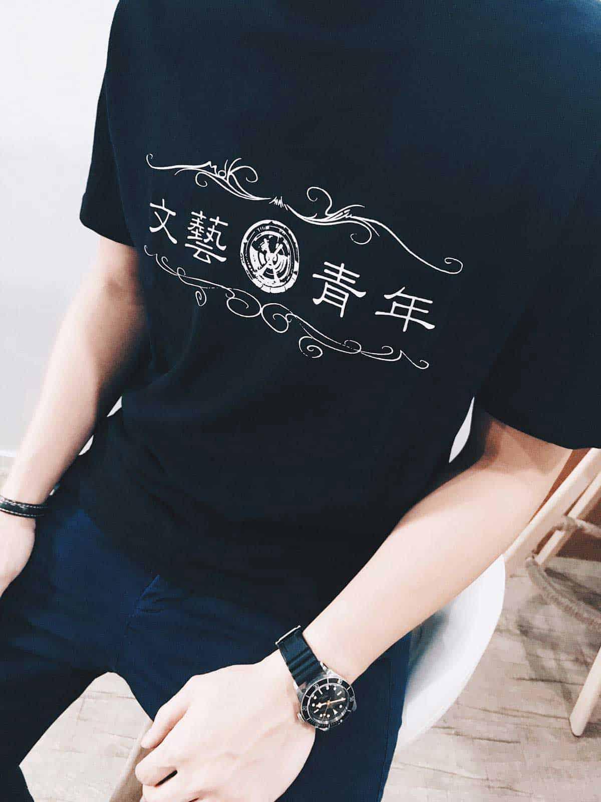 裁布製T-shirt參考圖