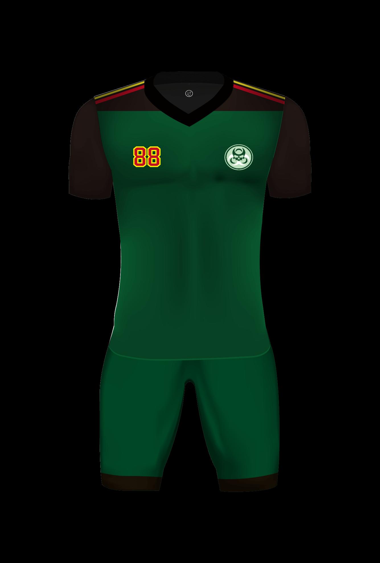 足球波衫服裝參考