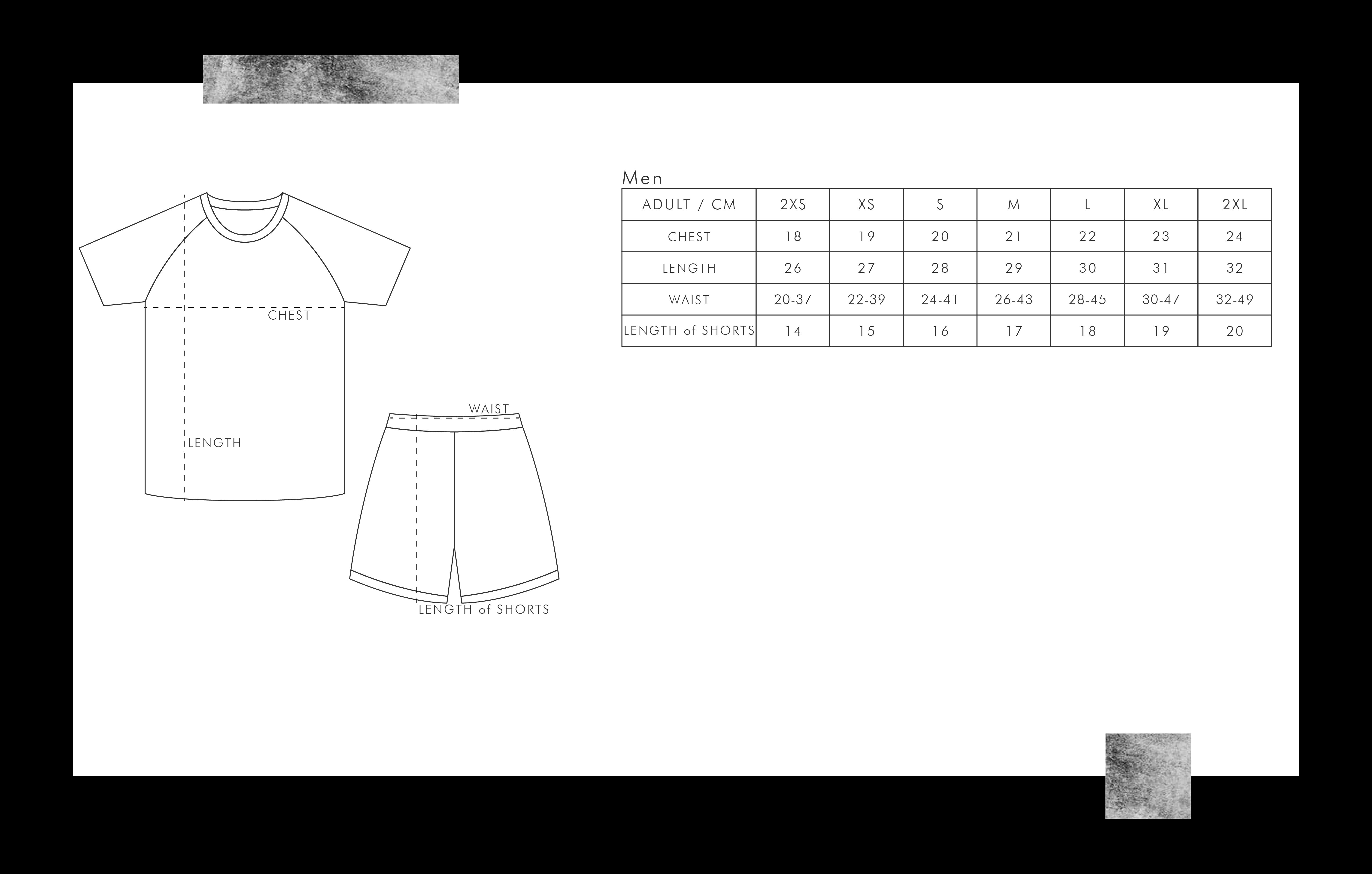 足球波衫尺碼表