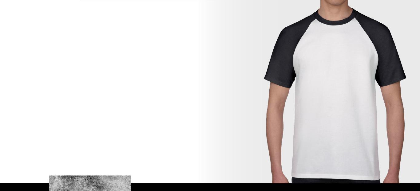 Gildan 牛角t-shirt 示意圖