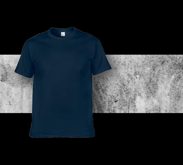 Gildan 180G T shirt 實物參考圖