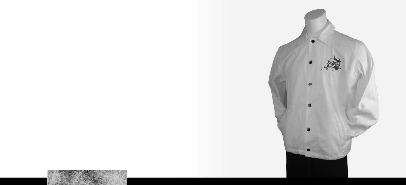 裁布製教練外套示意圖