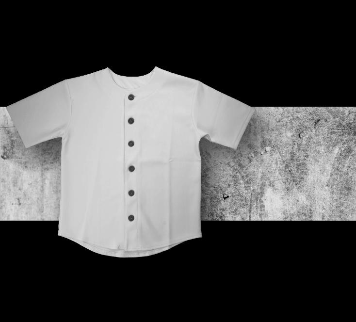 裁布製棒球衣實物參考圖